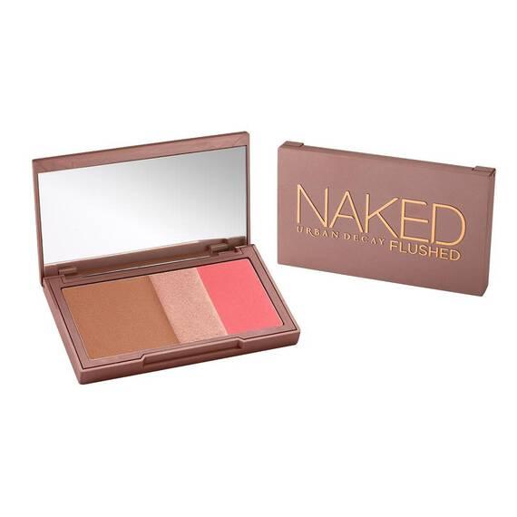 Naked Flushed in color Streak