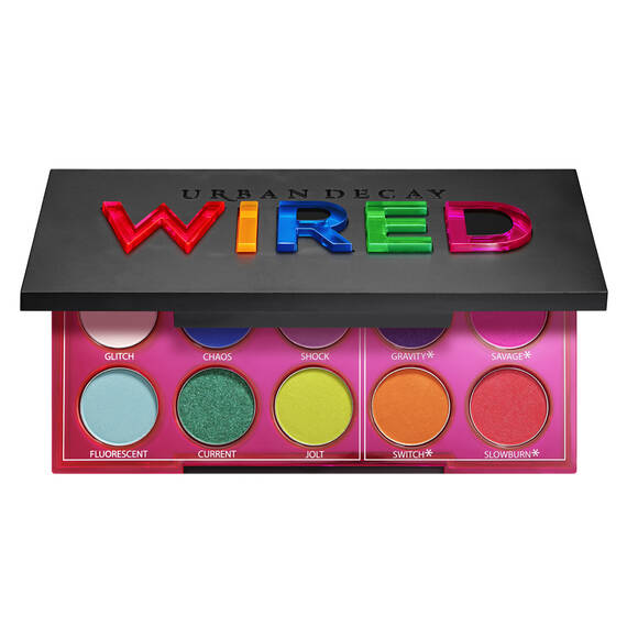 Wired Eyeshadow Palette in color