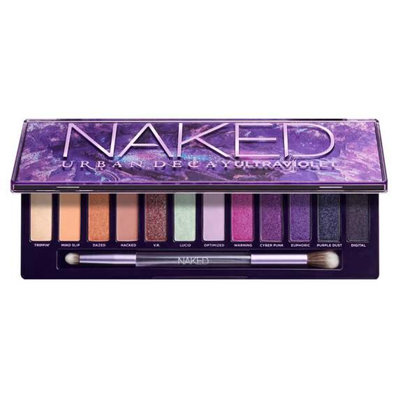 Naked Ultraviolet Eyeshadow Palette in color