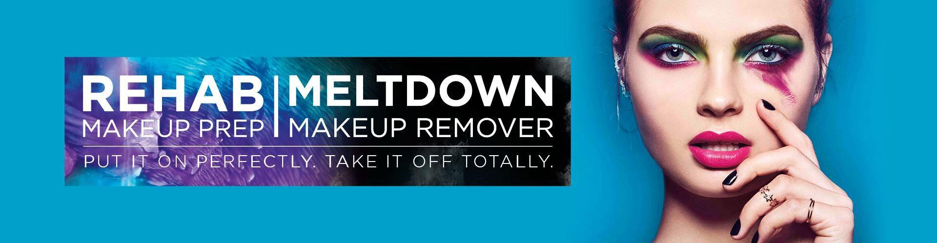 Maquillaje de Preparación Rehab   Desmaquillante Meltdown